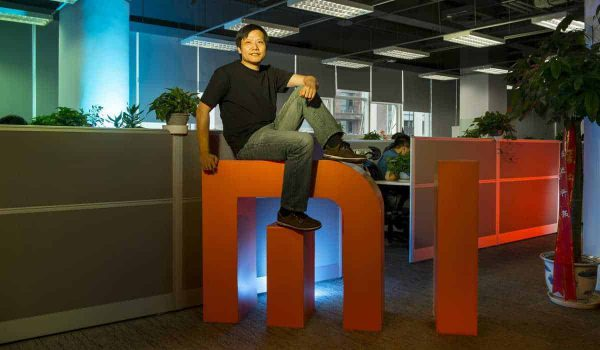 Xiaomi CEO Lei Jun. Xiaomi is nu de derde grootste smartphonemaker ter wereld.