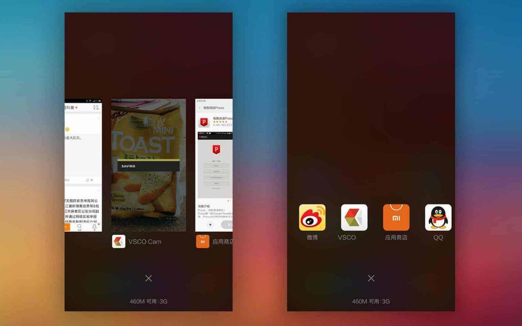 MIUI 6 gelanceerd, update onder andere multitasking