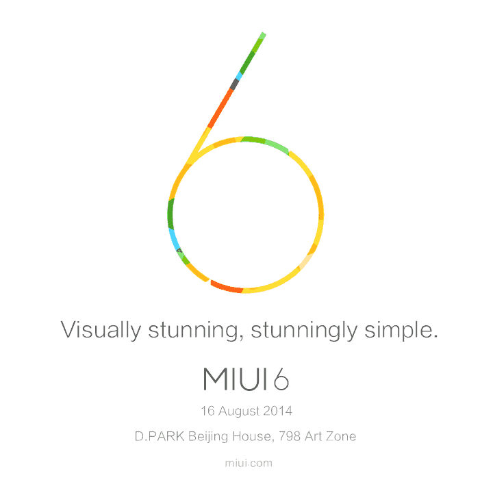 MIUI versie 6 vanaf 16 augustus beschikbaar