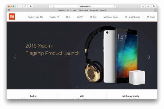 Xiaomi gaat accessoires openen via webshop in Europa en Nederland