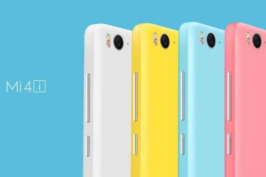 Xiaomi Mi 4i kleuren