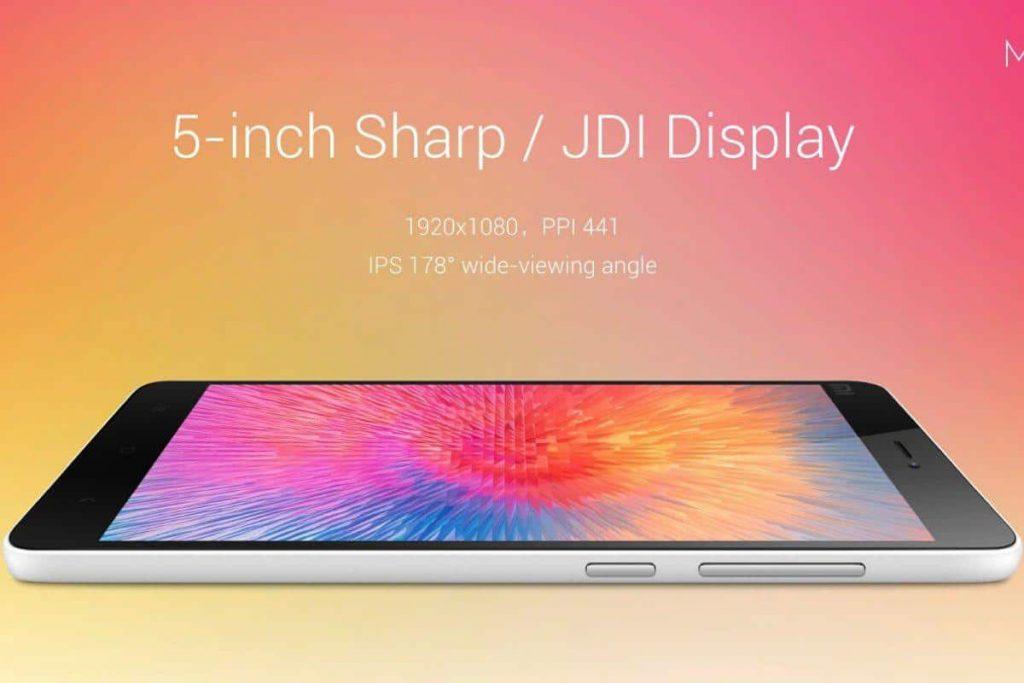 Xiaomi Mi 4i scherm