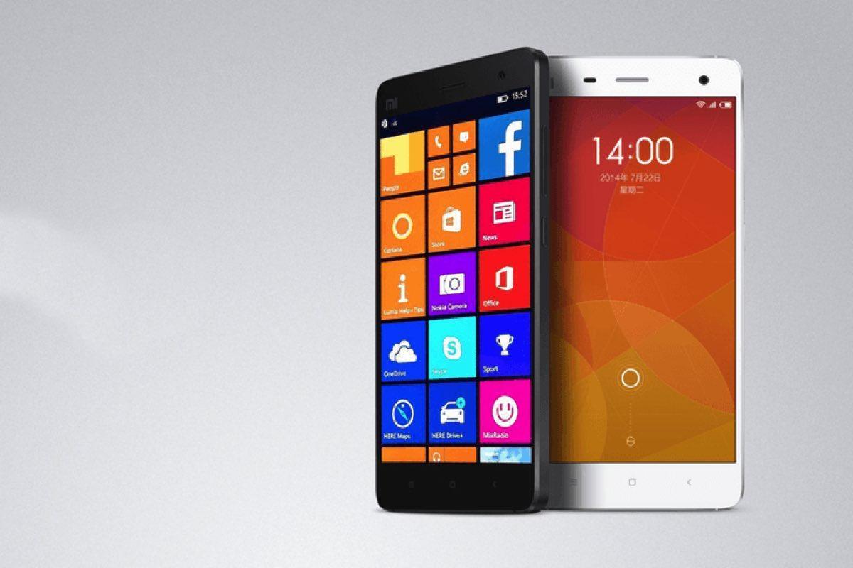 Microsoft Windows Xiaomi Mi 4