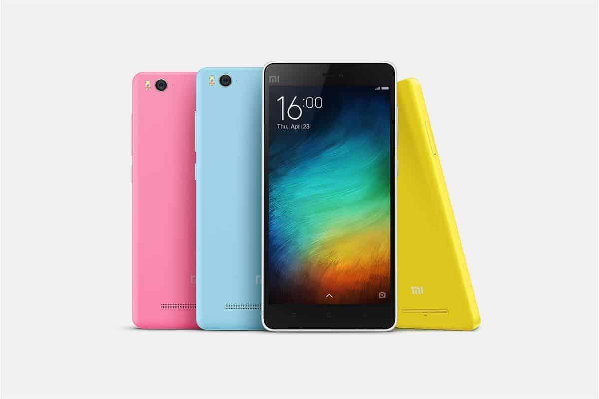 Xiaomi Mi 4c in de winkels in oktober, bevat USB Type C oplader