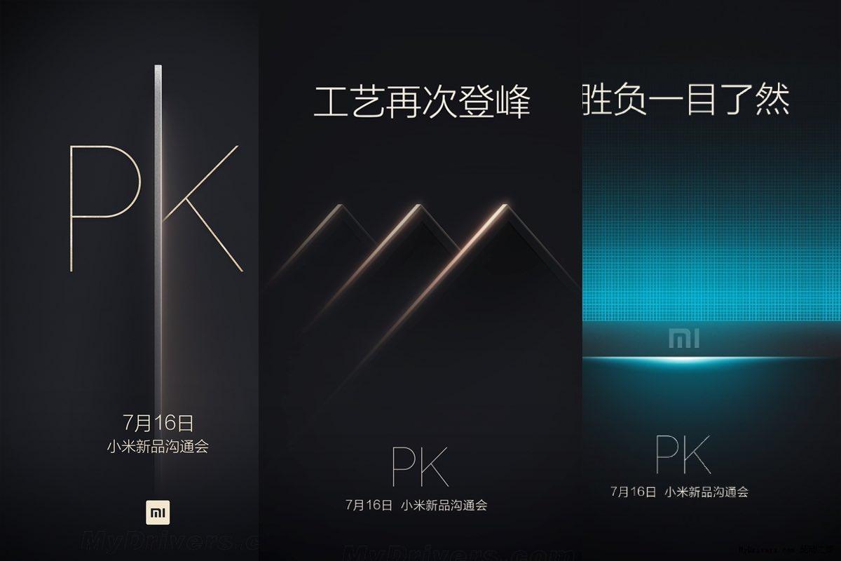 Xiaomi teast met afbeeldingen, nieuwe Xiaomi Mi TV op 16 juli