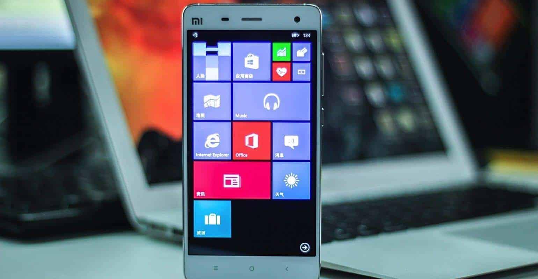 Windows 10 binnenkort beschikbaar voor alle Xiaomi smartphones