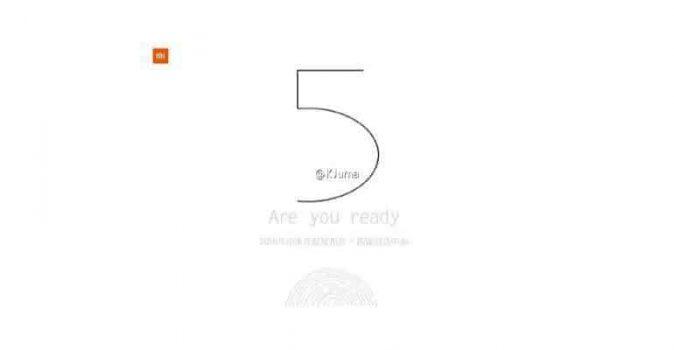Alles wat we weten over de Xiaomi Mi 5 vingerafdrukscanner, 16 megapixel camera, Snapdragon 820