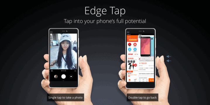 Xiaomi Mi 4c Edge Tap