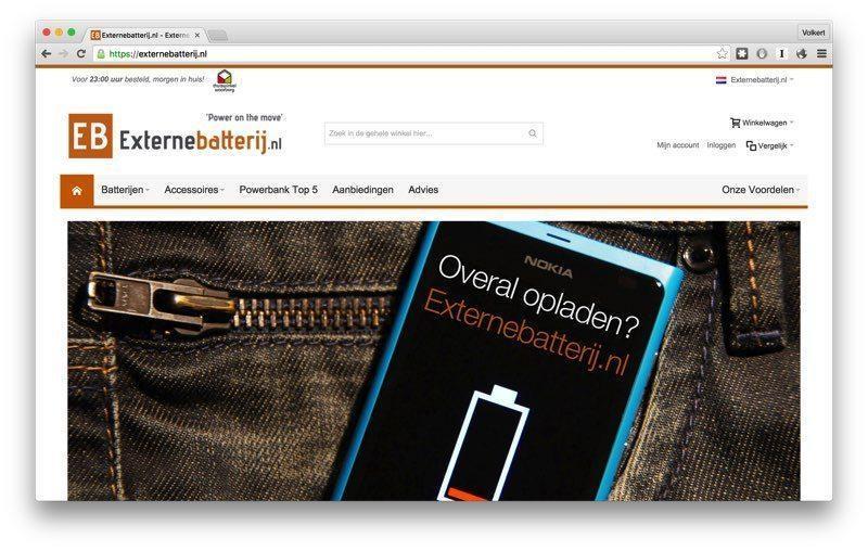 Een Xiaomi powerbank kopen via Externebatterij.nl