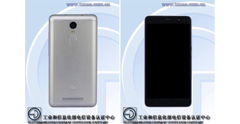 TENAA keurt Xiaomi Redmi Note 2 Pro, krijgt metalen behuizing en vingerscanner
