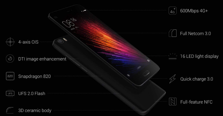 Xiaomi Mi 5 innovaties