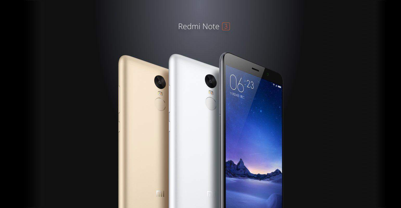 Tot eind januari korting op de Xiaomi Redmi Note 3 bij GearBest