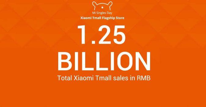 Xiaomi top verkoper op Singles Day- 1,25 miljard omzet