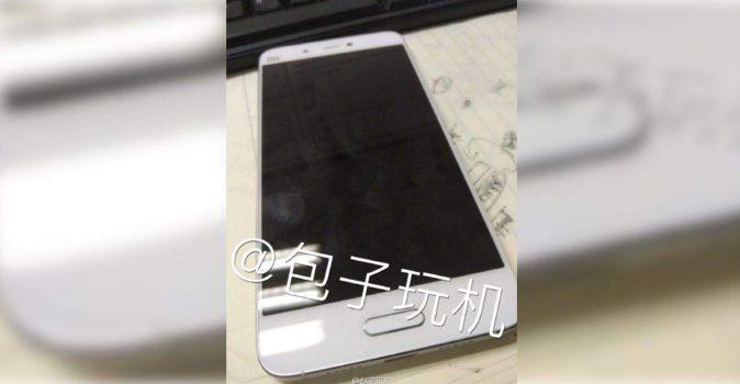 Foto's nieuwe Xiaomi Mi5 uitgelekt dunne randen en kleine vingerscanner