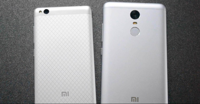 Vergelijking Xiaomi Redmi 3 en Xiaomi Redmi Note 3
