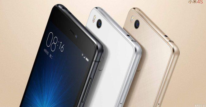Xiaomi Mi 4s kleuren