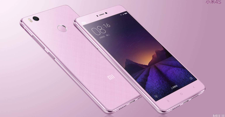 Xiaomi Mi 4s roze