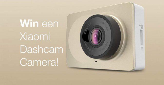 Actie win een Xiaomi Dashcam camera!