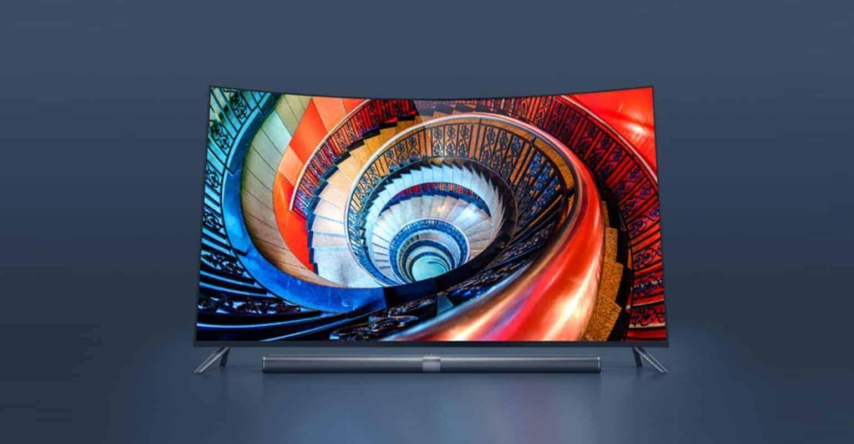Nieuwe Xiaomi Mi TV 3S-televisie heeft een gebogen scherm
