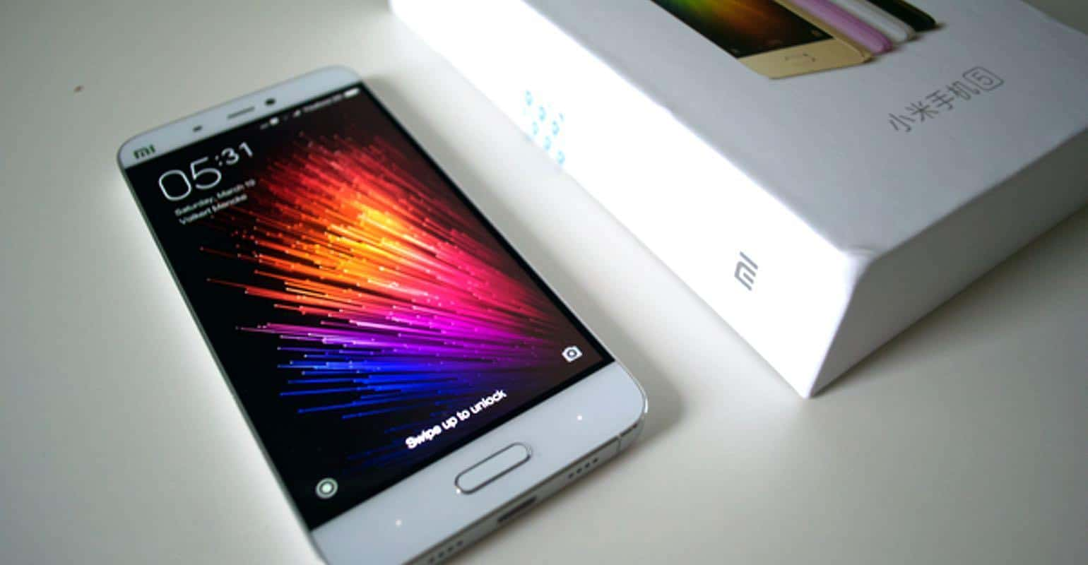 Xiaomi Mi 5 review doos