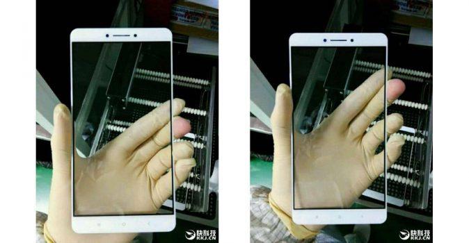 Xiaomi Mi Note 2 en Max komen in de zomer, scherm Xiaomi Max uitgelekt