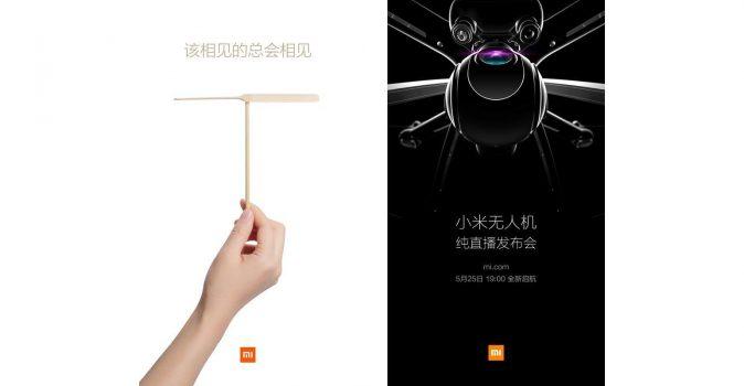 Xiaomi zal op 25 mei eigen drone lanceren met ingebouwde 4K camera