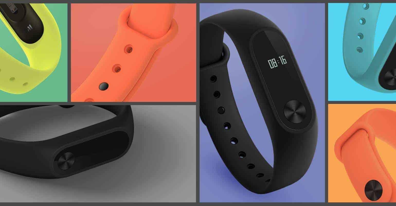 Xiaomi Mi Band 2 kleuren