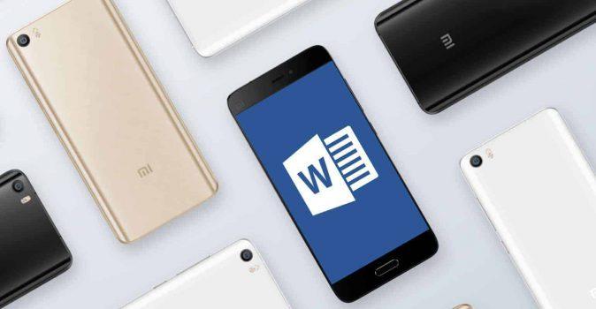 Xiaomi en Windows sluiten deal, Office standaard op alle Xiaomi smartphones
