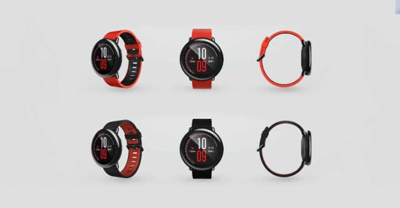 Foto van de Amazfit Smartwatch van Huami