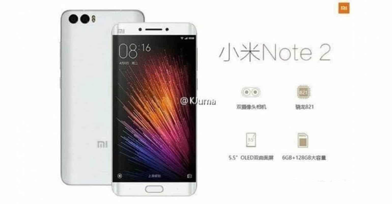 foto Xiaomi Mi Note 2