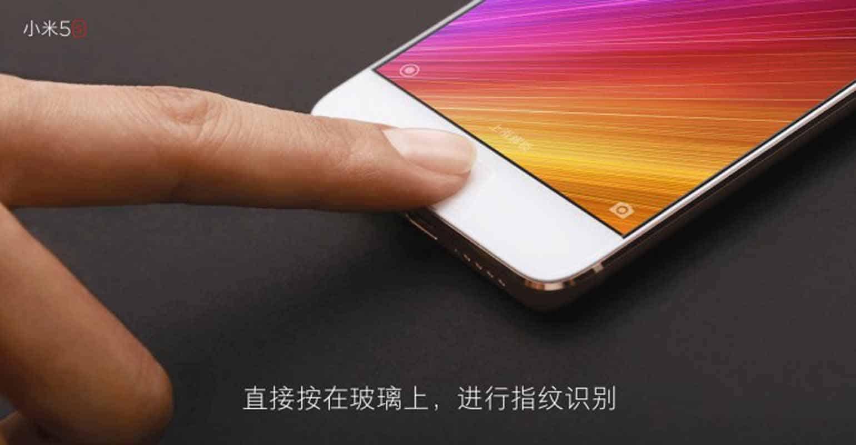 Vingerafdrukscanner Xiaomi Mi 5s