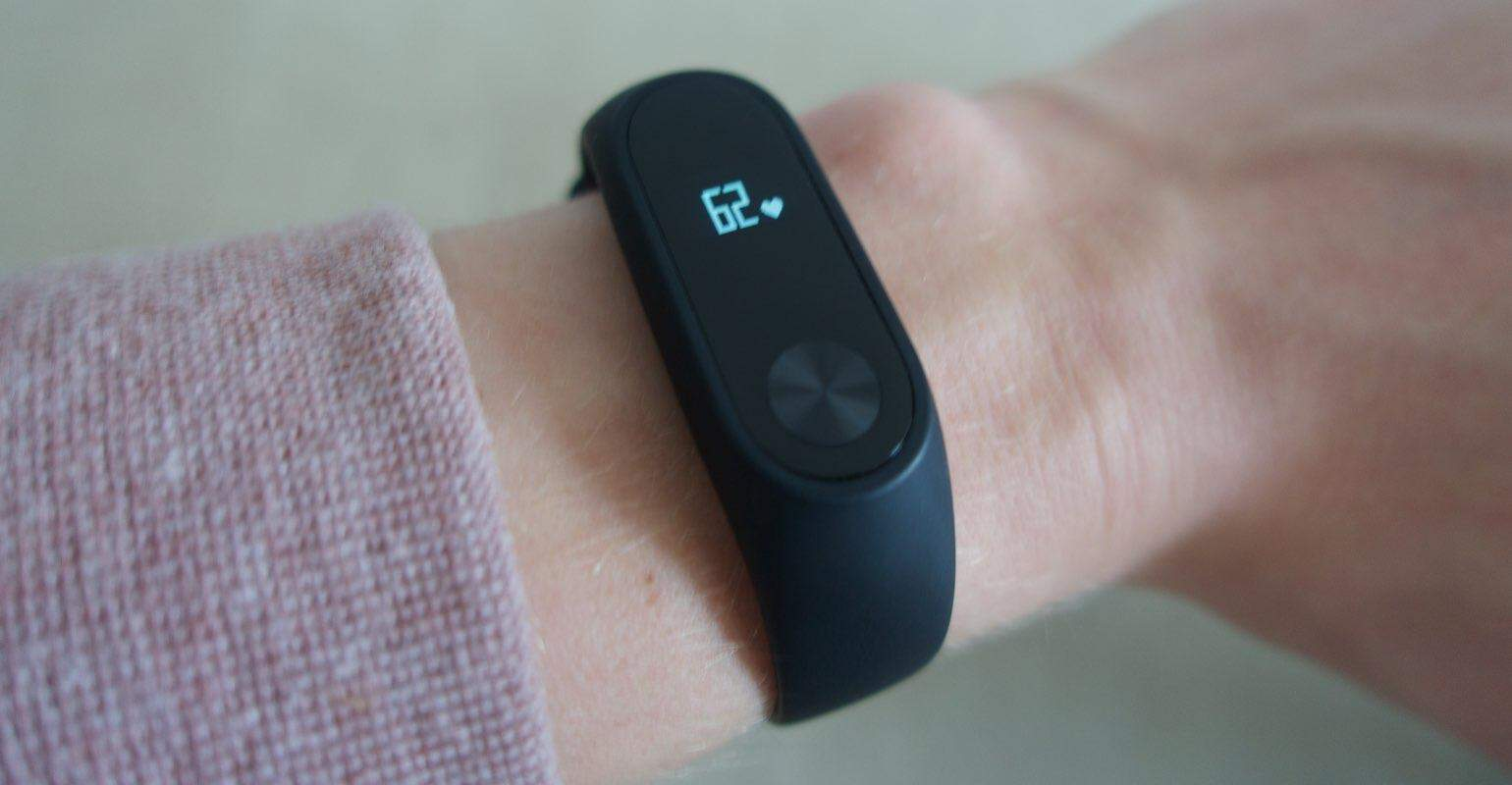 Xiaomi Mi Band 2 review scherm
