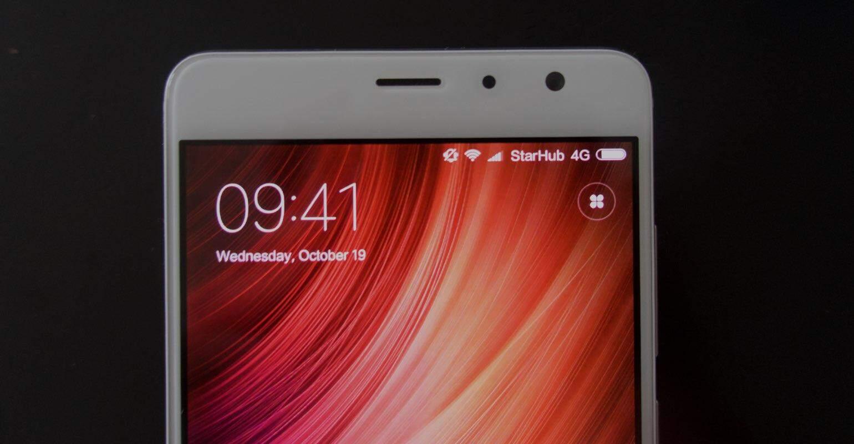 Xiaomi Redmi Pro review scherm