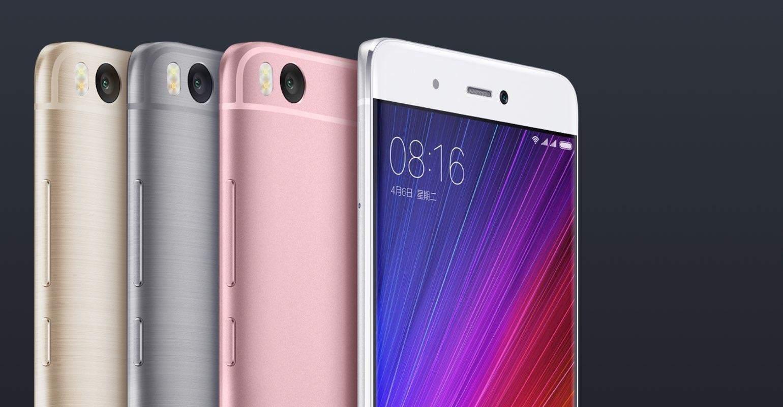 Xiaomi Mi 5s kleuren