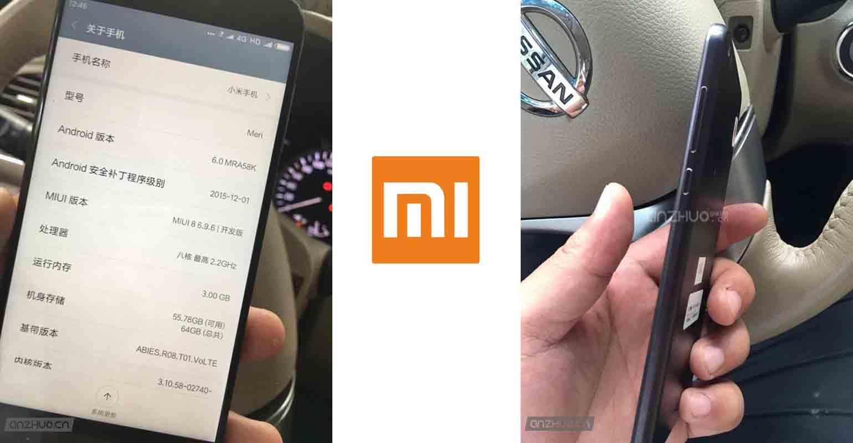 Specificaties nieuwe Xiaomi smartphone
