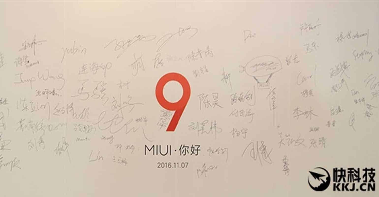 MIUI 9 Aankondiging