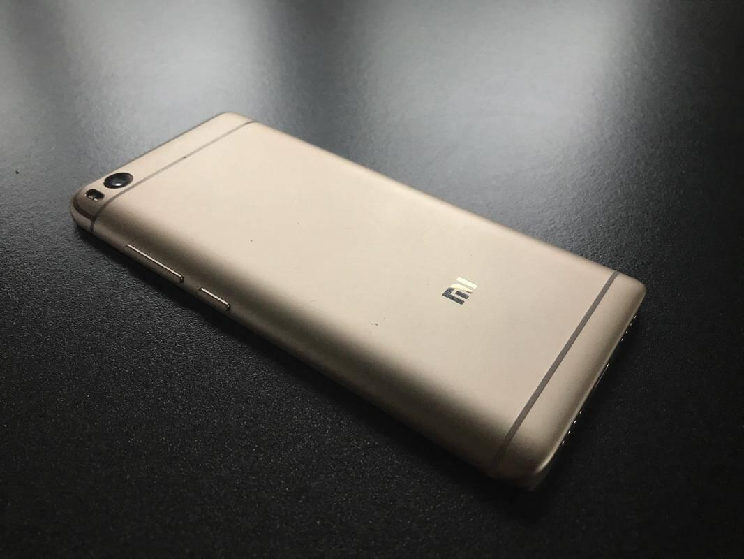 Xiaomi Mi 5s uiterlijk