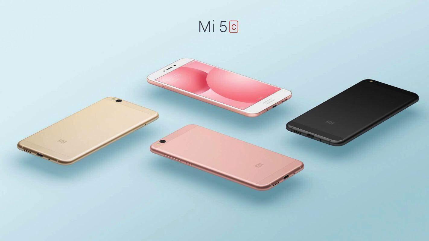 Xiaomi presenteert eigen processor, Xiaomi Mi 5c en Redmi 4x