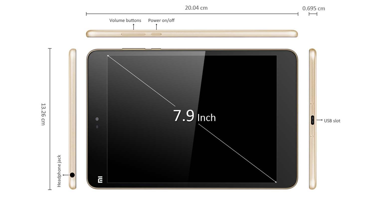 Xiaomi Mi Pad 2 voorganger van de Xiaomi Mi Pad 3