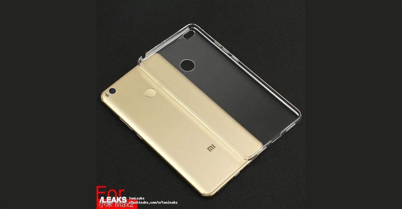Foto's Xiaomi Mi Max 2 verschijnen, lancering op 25 mei