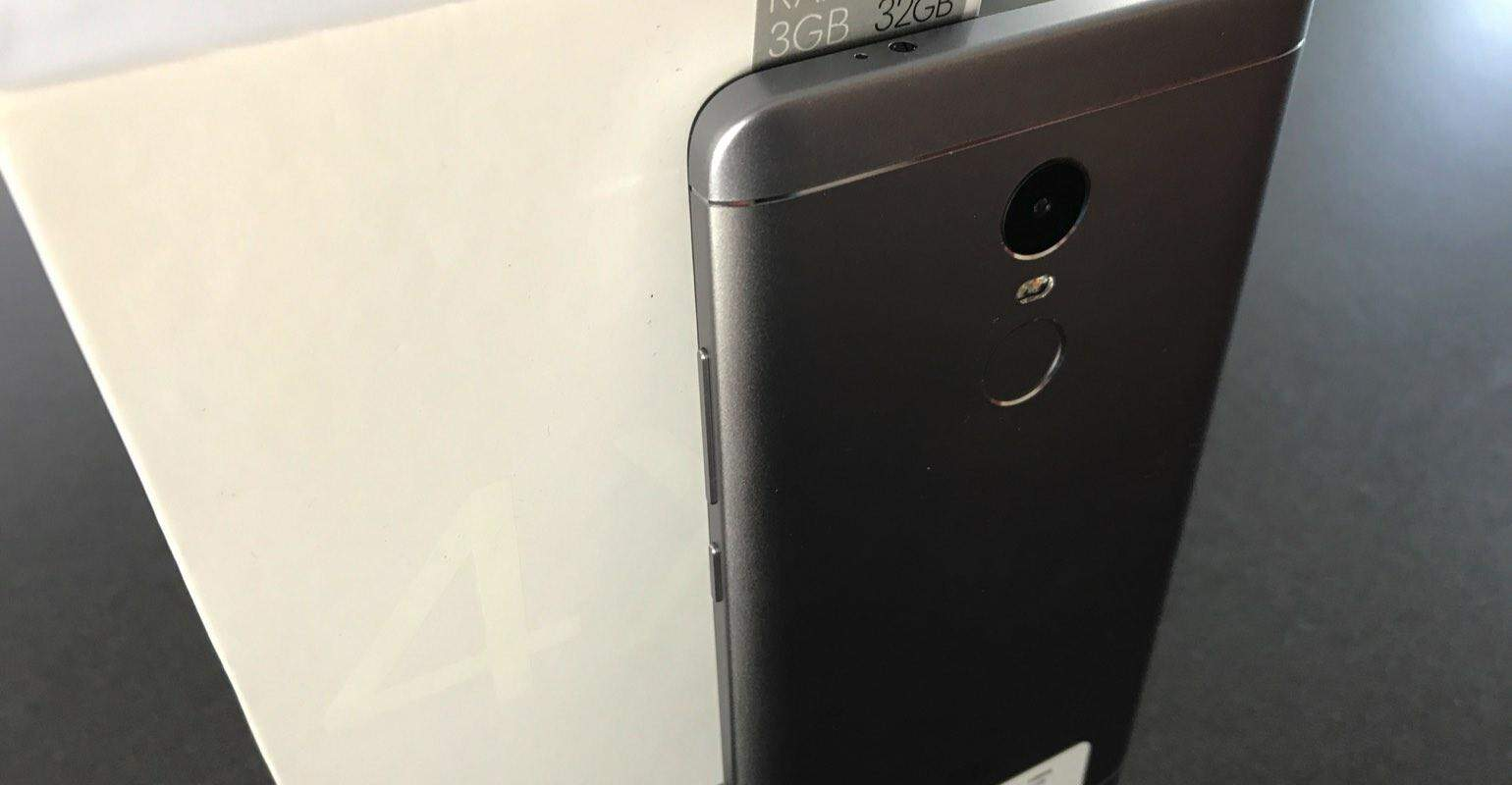 Review Xiaomi Redmi Note 4X camera en vingerscanner