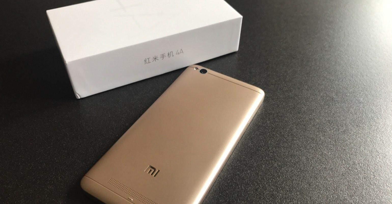 Xiaomi Redmi 4A review achterkant ontwerp