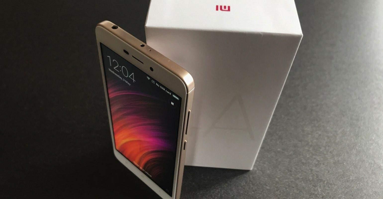 Xiaomi Redmi 4A review verpakking