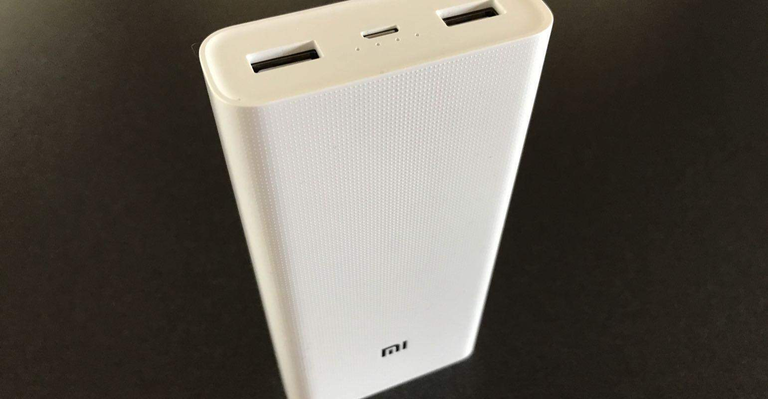 Review Xiaomi Mi Powerbank 20000mAh