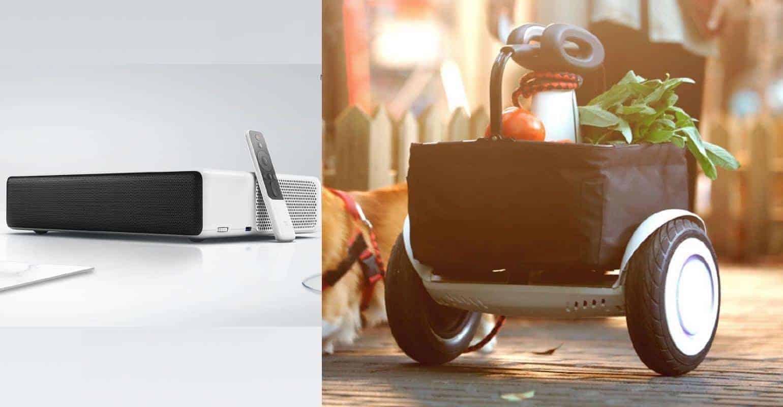 Xiaomi introduceert Mi Ninebot Plus en Mi Laser Projector