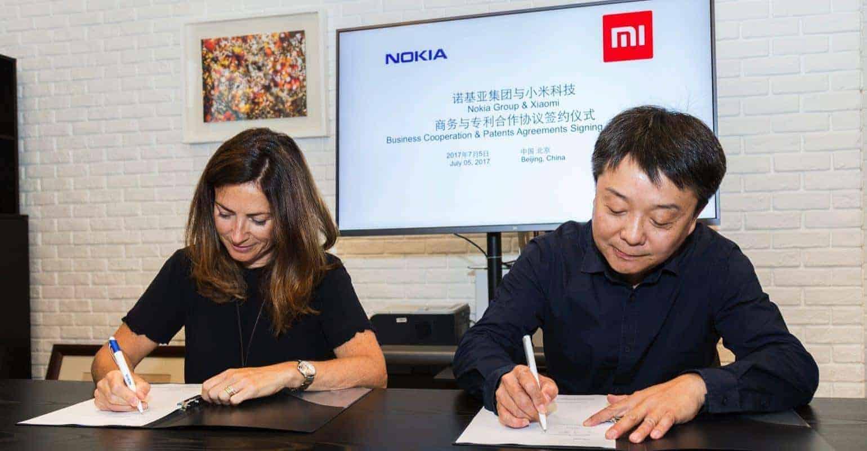 Nokia en Xiaomi kondigen samenwerking aan