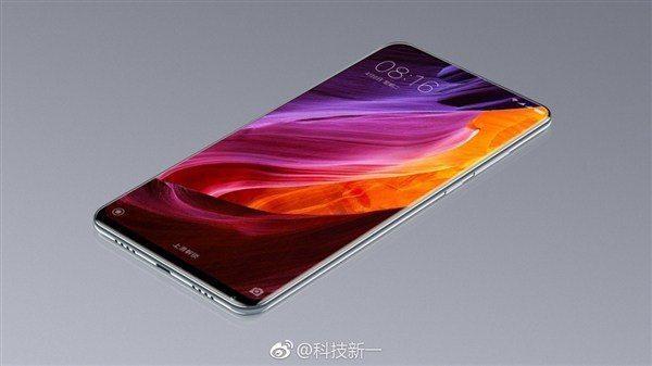 Foto Xiaomi Mi MIX 2 prototype uitgelekt, bevat geen selfie-camera