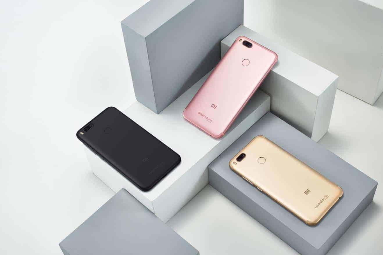 Xiaomi Mi A1: eerste Xiaomi telefoon met Android One