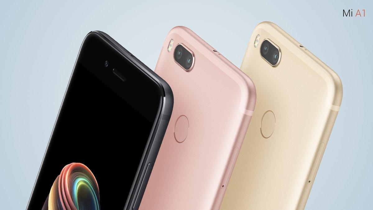 Xiaomi Mi A1 kleuren