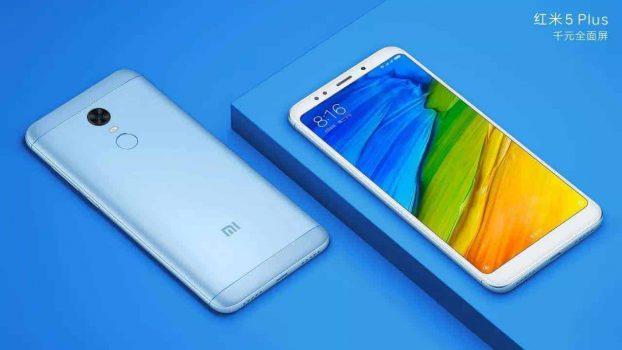 Xiaomi Redmi 5 Plus foto's en specificaties uitgelekt, lancering op 7 december